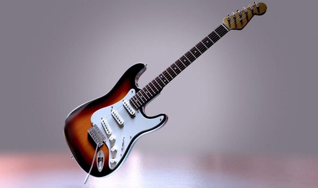 ストラトキャスター(エレキギター)の画像