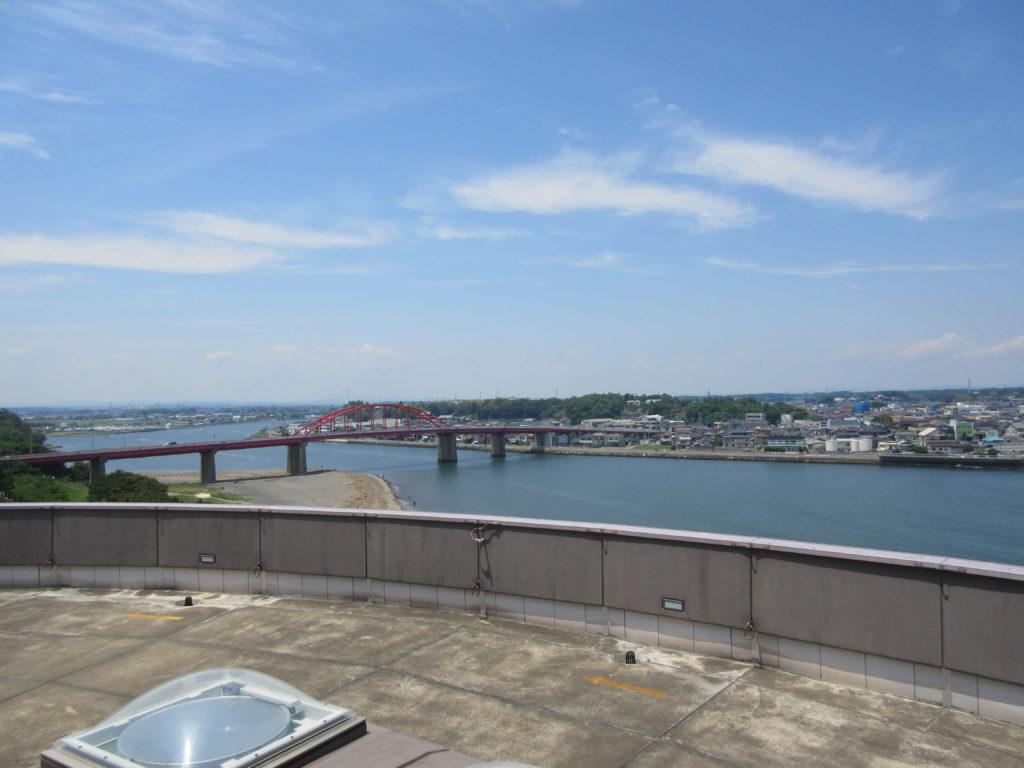 アクアワールド茨城県大洗水族館からの眺めの画像