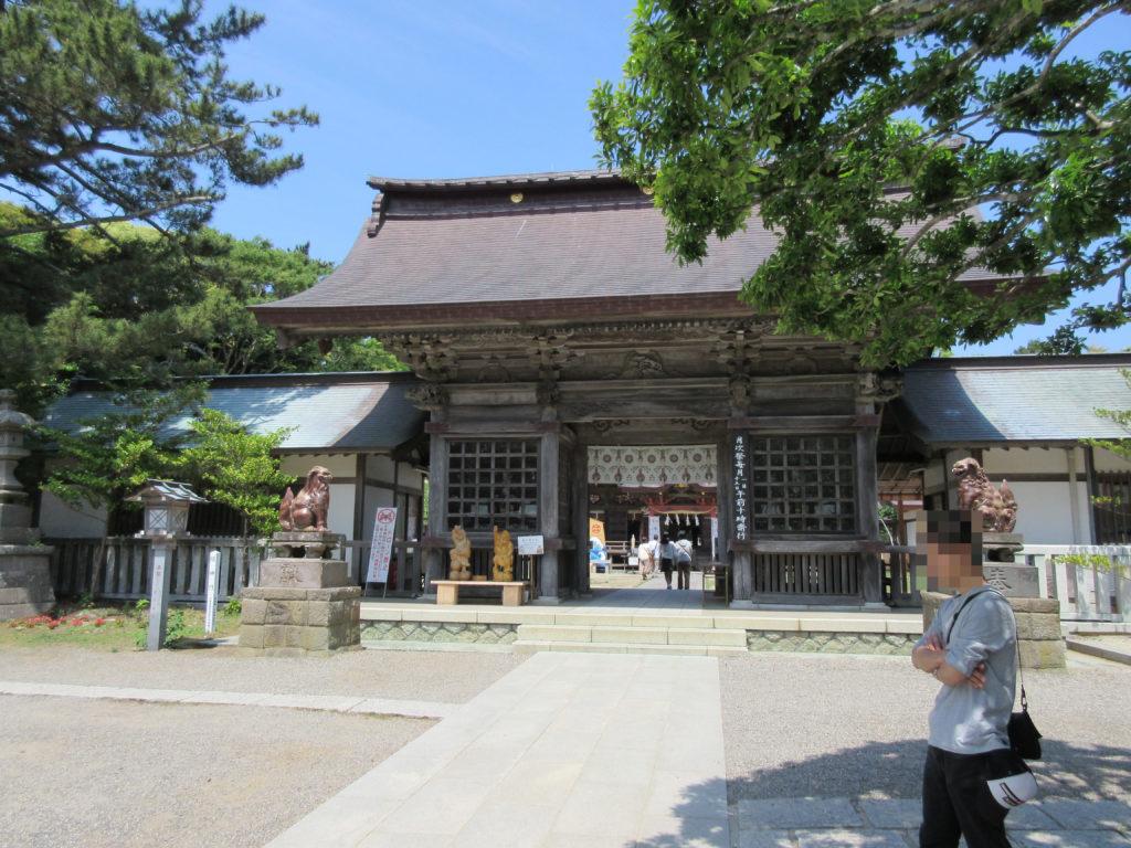 大洗磯崎神社の外観の画像
