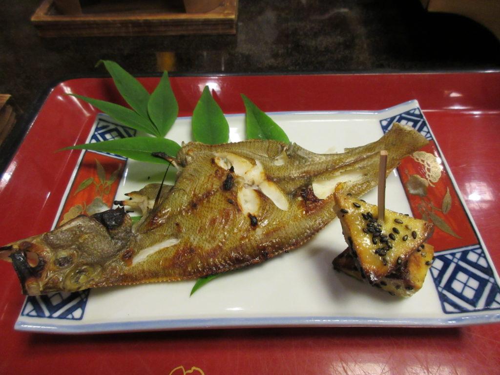 旅館民宿 くるみ屋の焼き魚(自家製干物)の画像