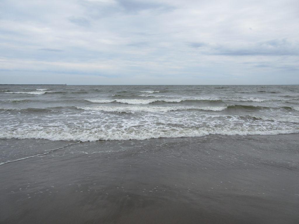 大洗の砂浜の画像