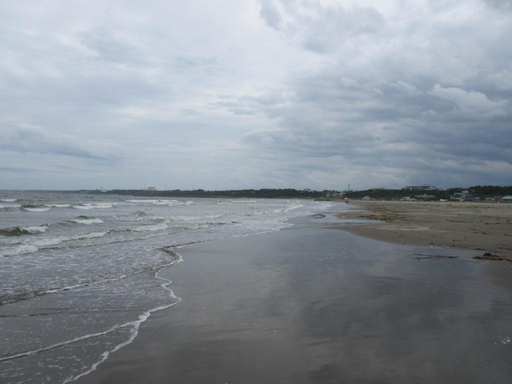大洗の海の画像